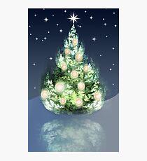 Fraktal-Weihnachtsbaum Fotodruck