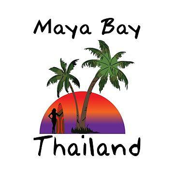 Maya Bay Thailand by RBBeachDesigns