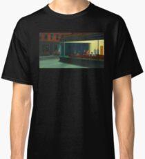 AMERIKANISCHER KÜNSTLER, Edward Hopper, Nighthawks, 1942 Classic T-Shirt