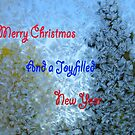 Frosty Christmas Card by MaeBelle