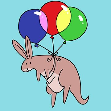 Balloon Kangaroo by SaradaBoru