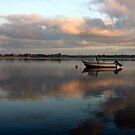 Boat @ Malahide Marina by Martina Fagan