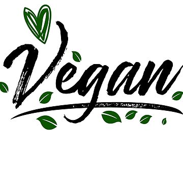 Vegan Shirt Vegetarian Gifts Heart Animals Veggie Vegetarian by Rueb