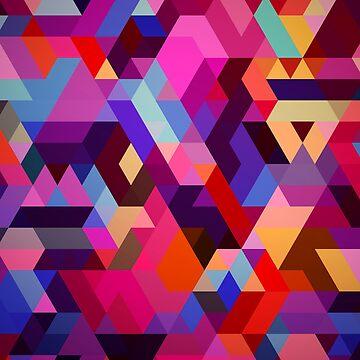 Fun geometry by bubbliciousart