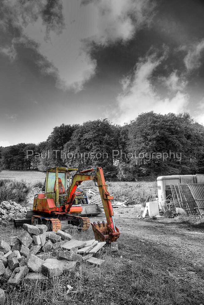 Someone Has Been Busy by Paul Thompson Photography