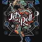 DnD Let's Roll by WorldOfTeesUSA