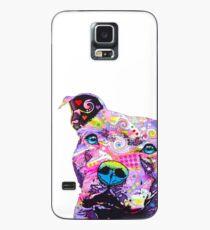 PitBull T-Shirts Buntes Pit Bulls T-Shirt Hülle & Klebefolie für Samsung Galaxy