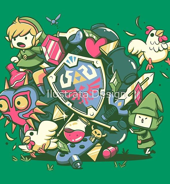 Let's Roll Link by Ilustrata Design