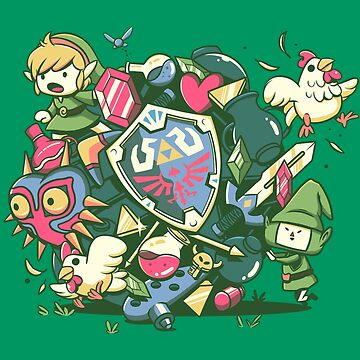 Let's Roll Link by ilustrata