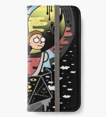 Rick Polarität iPhone Flip-Case/Hülle/Klebefolie