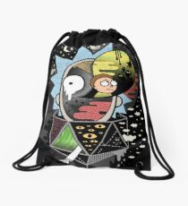 Rick Polarity Drawstring Bag