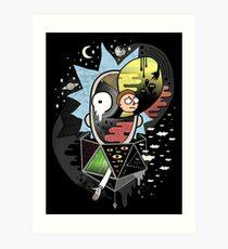 Rick Polarity Art Print