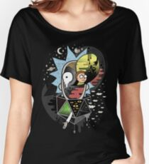 Camiseta ancha Rick Polarity