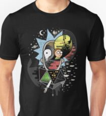 Camiseta unisex Rick Polarity