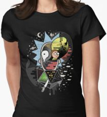 Rick Polarity Women's Fitted T-Shirt