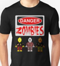 DANGER ZOMBIES Unisex T-Shirt