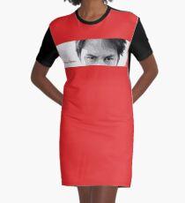 Keanu Reeves - Eyes Sight Graphic T-Shirt Dress