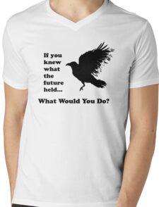 Black Crow - What would you do? Mens V-Neck T-Shirt