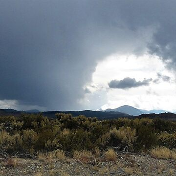 There's A Storm Across The Valley – Pumice Valley, Mono County, CA by RKreklow