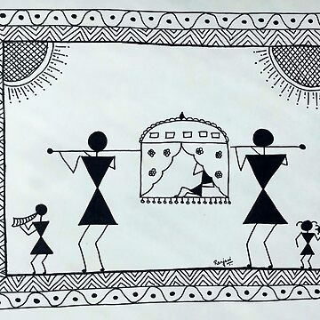 Warli Painting by ranjaniart
