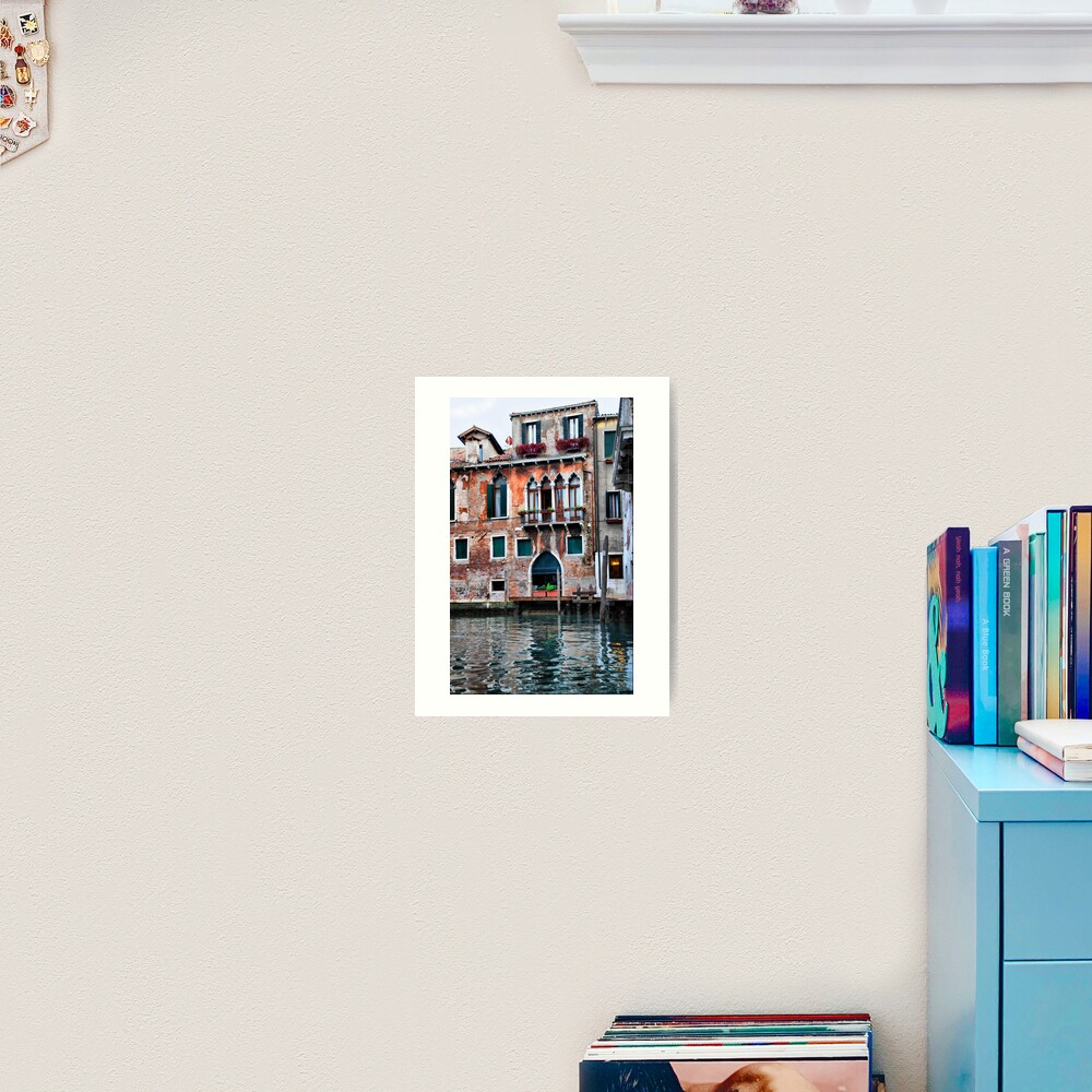 Watercolor Venice Art Print