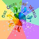 One Color One World by FrauleinimStall