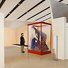 Museum VI (Four Primates) by Jason Moad