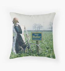 Democracy in action: The Straw Man Throw Pillow