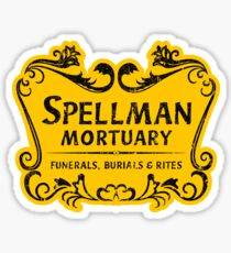 Spellman Mortuary Sticker