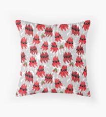 Australian Sturt Desert Pea Pattern Floor Pillow