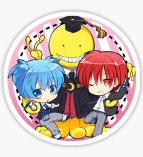 Koro sensei Nagisa Karma Sticker