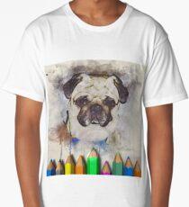 pug Long T-Shirt