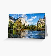 Merced River at Yosemite Greeting Card