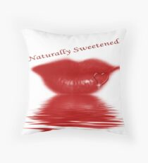 Naturally Sweetened Throw Pillow