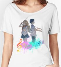 Shigatsu wa kimi no uso Women's Relaxed Fit T-Shirt