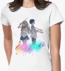 Camiseta entallada Shigatsu wa kimi no uso
