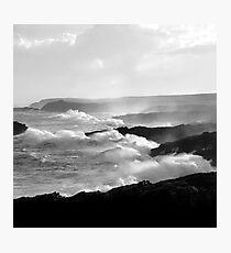 Ness, Isle of Lewis - White Horses Photographic Print