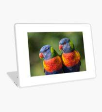 Rainbow Lorikeets Laptop Skin