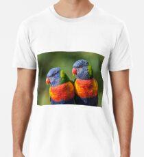 Rainbow Lorikeets Premium T-Shirt