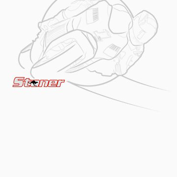 Casey Stoner Outlines by mattlock