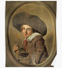 "Frans Hals ""A Young Man in a Large Hat"" Poster"