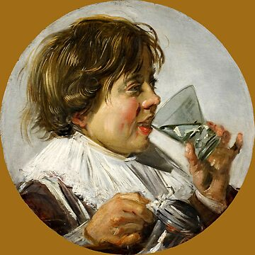 "Frans Hals ""Boy with a glass and a tin can"" by ALD1"