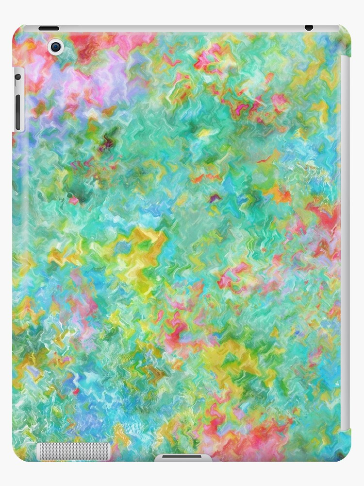 Tropical Waters Abstract #sabidussi #redbubble #decor #artprints by Menega  Sabidussi
