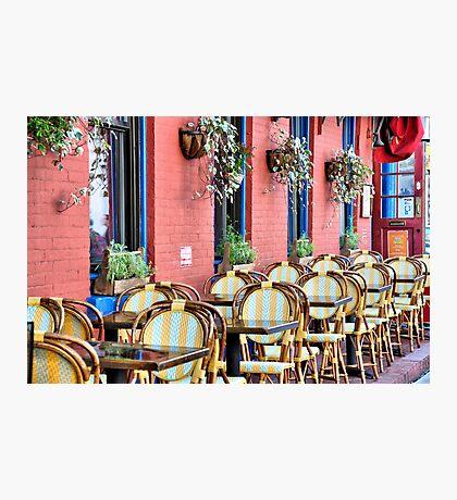 Outdoor Cafe SoHo Photographic Print
