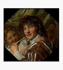 "Frans Hals ""The smoker"" Photographic Print"