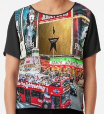 Times Square II Special Edition I Chiffon Top