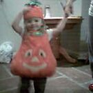 Isabella Pumpkin Girl by UrsulaDee