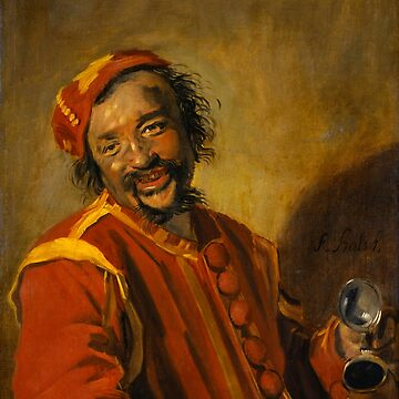 "Frans Hals ""Laughing man with crock, known as 'Peeckelhaeringh or 'Pekelharing'"" by ALD1"