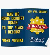 West Virginia Vault 76 Poster