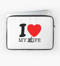 My life? My wife? Laptop Sleeve